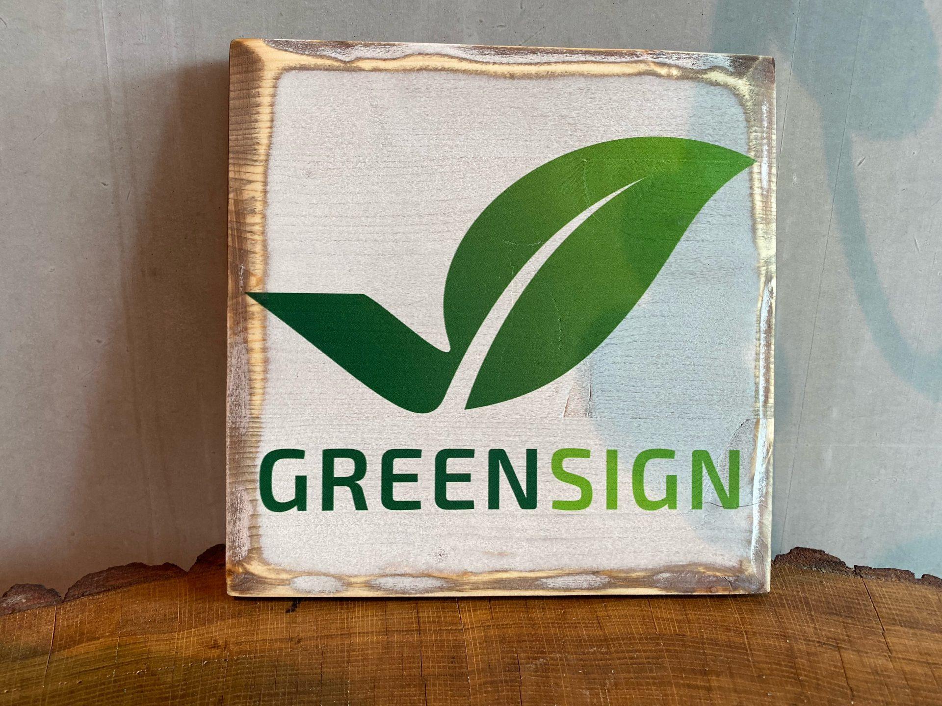 GreenSign-Zertifikat
